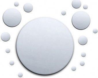 Value Circle Bubbles Mirror Pack, 1 x 40cm, 2 x 12cm, 4 x 8cm, 10 x 4cm