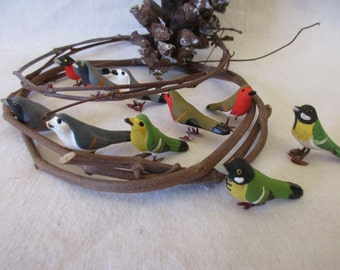 Vintage Flock of Birds from Germany