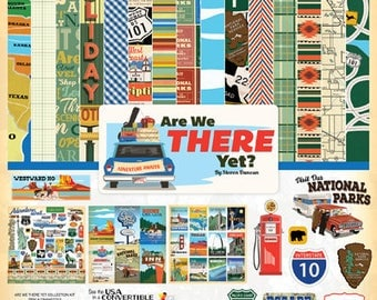 Carta Bella Are We There Yet? Collection Kit