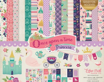 Echo Park Once Upon a Time Princess Collection Kit