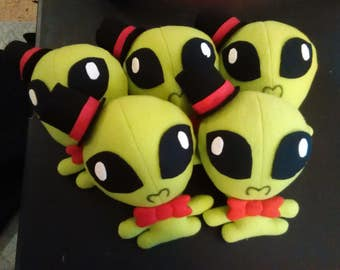 Little Peridot Alien plushie!