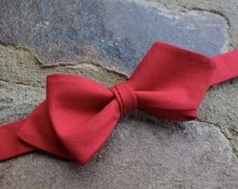 Boys bow tie dimond style,bow ties for boys with strap,red boys bow tie