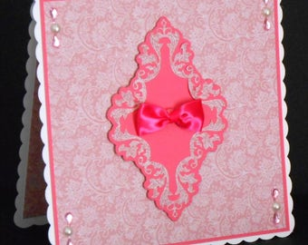 This Is An All Occasions 8 x 8 Card With Matching Insert
