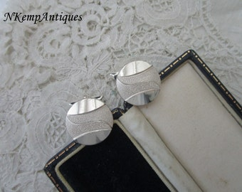Real silver cufflinks 835