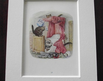 Original 1940's edition of Beatrix Potter's  'The Tale of Tom Kitten'.