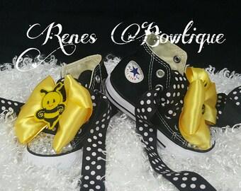 Bumble Bee Converse Boutique Shoe