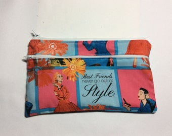 "Style    wet/dry  bag or cosmetic 91/2"" x 51/2"""