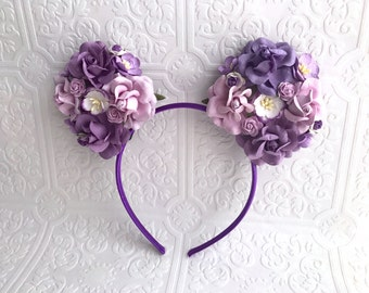 The Purple Minnie Garden Goddess Ears