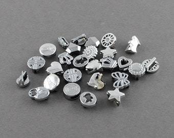 Small Slide Charms - Assorted