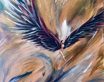 "Original Painting : ""Limitless Freedom"""