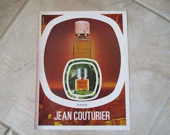Jean Couturier Perfume Advert, Perfume Advert