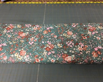 no. 342 CH Blooming Flowers Fabric by the yard