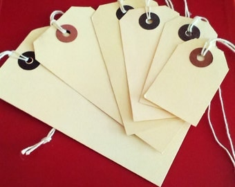 Labels tags in 6 sizes