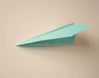 One set of 50 Small Paper Airplanes
