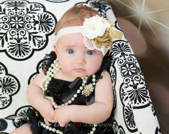Holiday Romper Set/Christmas Petti Romper/New Year Petti Romper/Baby Petti Romper/Infant Petti Romper/Toddler Petti Romper/Girl Petti Romper