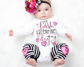 Baby Girl Valentine~Valentine Outfit~Birthday Outfit~Baby Girl Valentine Outfit~Valentines Day Outfit Baby~Baby Valentine Outfit