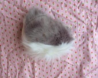 Grey Deer/Rabbit Tail