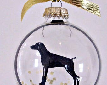 Weimaraner Ornament,  Dog Gifts for Dog Lovers
