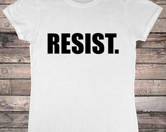 Resist Authority Protest Activism T-Shirt