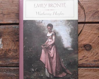 Journal made from Wuthering Heights book by Emily Bronte