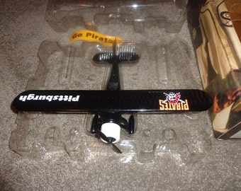 Die cast metal airplane,Pittsburgh Pirates made by Ertl co.