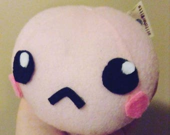 Pink kawaii mochi ball