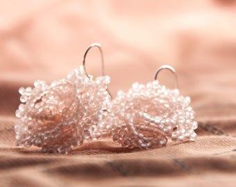 """Earrings """"Rose"""" nostalgia"""