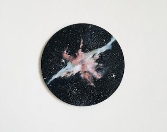 Nebula Painting - Space Art - Galaxy Painting
