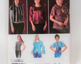 Misses Plus Size Sewing Pattern Jackets In 6 Variations Simplicity 2730 UNCUT Size 16-18-20-22-24 Bust 38-40-42-44-46 SewStylish
