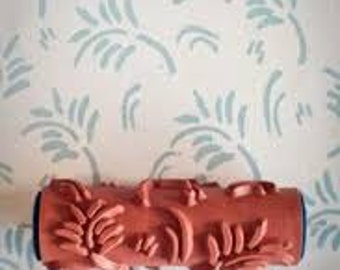 Fern leaf - Patterned paint roller