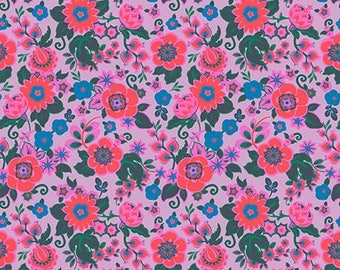Grand Bouquet in Melon by Amy Butler from the Soul Mate collection for Free Spirit #CPAB001.8Melo by 1/2 yard