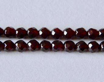 6mm Garnet Beads