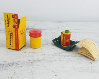 Kodak Film Set, camera, collectible, vintage, photography