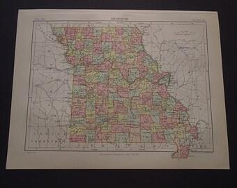 Print About Kansas Etsy - 8x11 us state map
