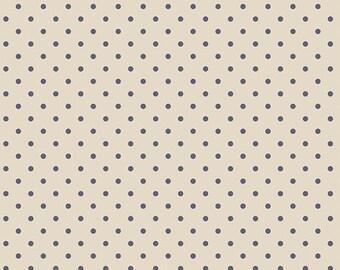 Les Petits - Dots Creme Amy Sinibaldi for Art Gallery Fabrics, 1/2 yard, LEP 711