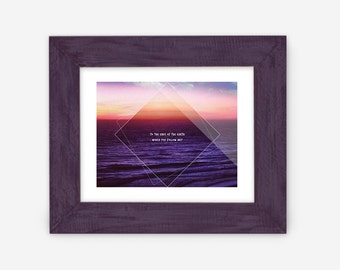 To the Ends of the Earth Would You Follow Me Lord Huron print