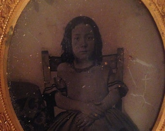 Ambrotype in Thermoplastic Case