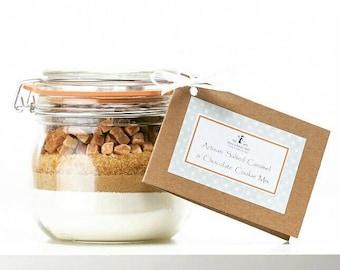 Cookie Mix - Artisan Salted Caramel & Chocolate Cookie Mix Jar