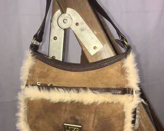 Neat Suede UGG Bag