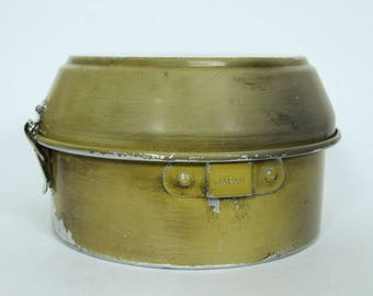 Vintage Aluminum Mess Kit, Made in Japan, Pots Pans Bowls with Cups