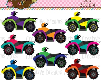 40% Off! ATV/Quad Digital Clip Art Instant Download
