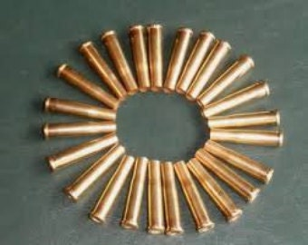 50 or 100 Brass 22 Magnum casings