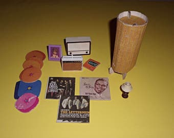 Vintage Barbie Dream Home Accessories