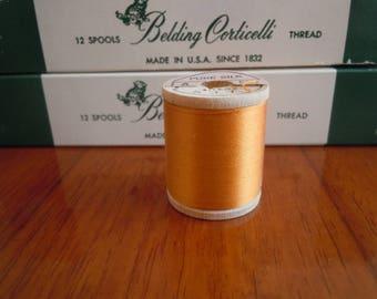 Belding Corticelli Silk Thread, Ginger Orange #5475