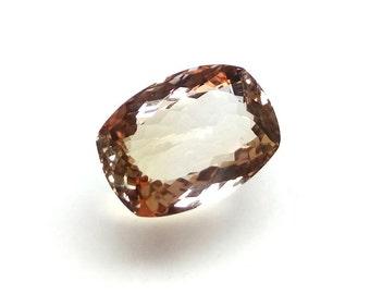 Rare Ametrine Gemstone / Cushion Ametrine Gems / Ametrine Gems 10.35 Carat 17x12x7 mm