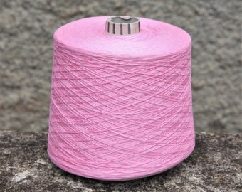 Cashmere/cotton yarn on cone, per 50g