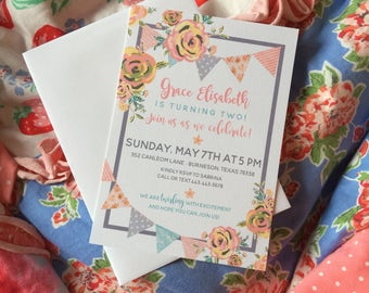 Matilda Jane Clothing Invitation Party Inspired