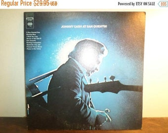 Save 30% Today Vintage 1969 Vinyl LP Record Johnny Cash at San Quentin Excellent Condition 360 Sound Label 9746