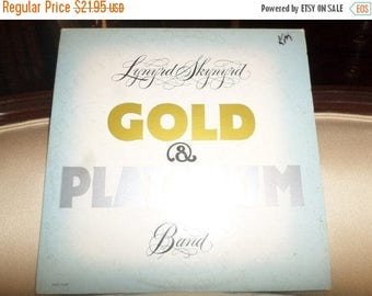 Save 30% Today Vintage 1979 LP Two Record Set Lynyrd Skynyrd Band Gold and Platinum Excellent Condition 8853