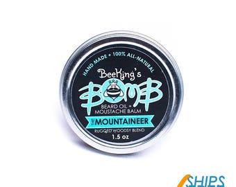 "BeeKing's ""Mountaineer"" Beard Balm"